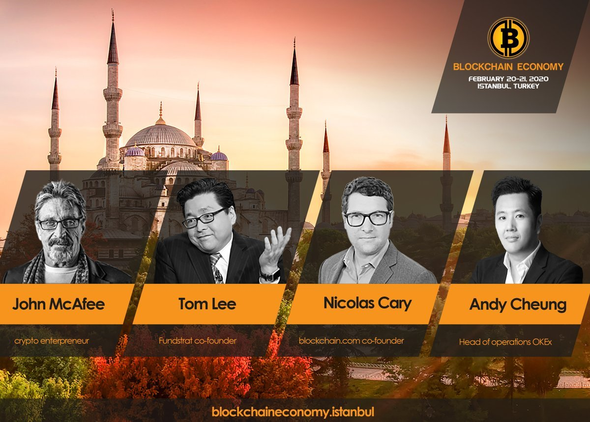 Tom Lee @ Blockchain Economy 2020 Istanbul Conference