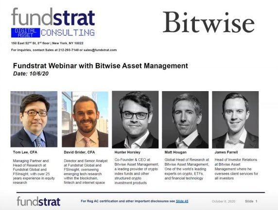 Bitwise: Leading Crypto Index Funds & New Alpha Opportunity
