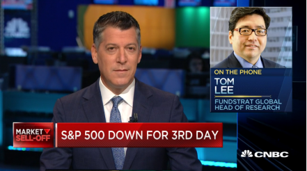 Tom Lee on Halftime Report: Fed will intervene to protect markets if there's a contested election