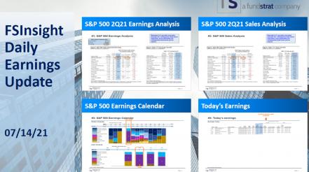 FSInsight 2Q21 Daily Earnings Update – 07/14/2021